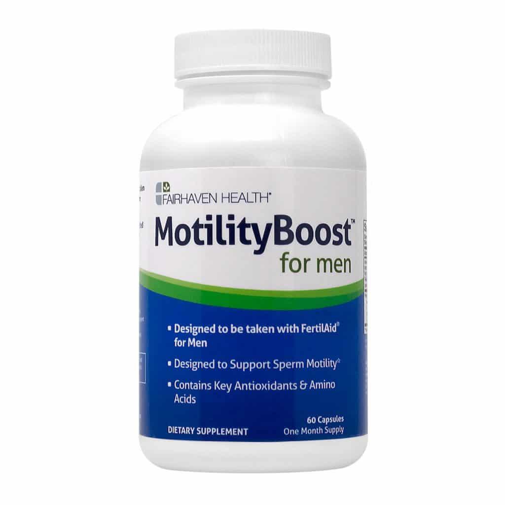 Motility Boost опаковка отпред