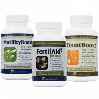 Fertility products for men