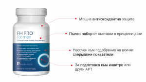 FH Pro ползи при тератозооспермия