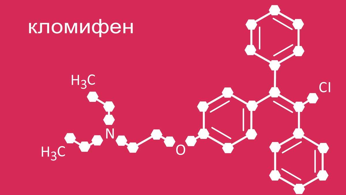 кломифен цитрат клостилбегит кломид