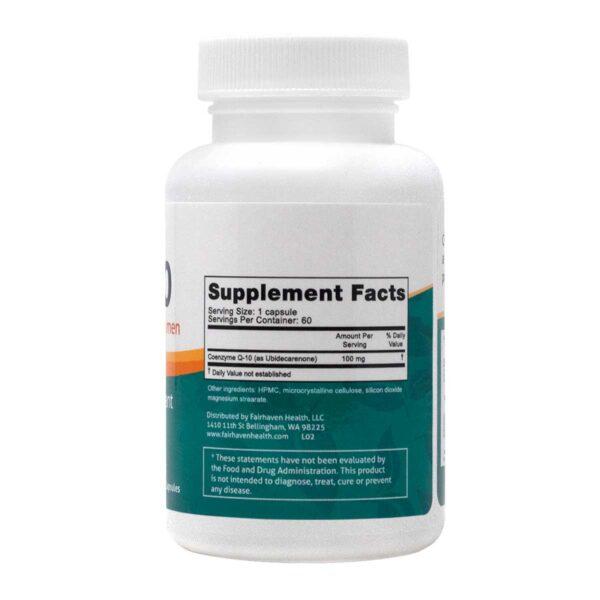 Coenzyme Q10 от Fertilaid - състав
